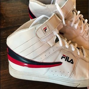 Fila high tops size youth 6